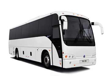 Large Coach Bus Hire from Khajuraho