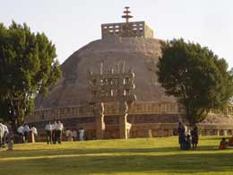 Great Stupa at Sanchi in Bhopal